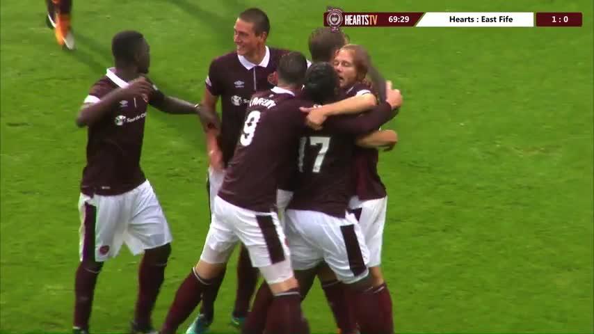 Hearts v East Fife | Goals