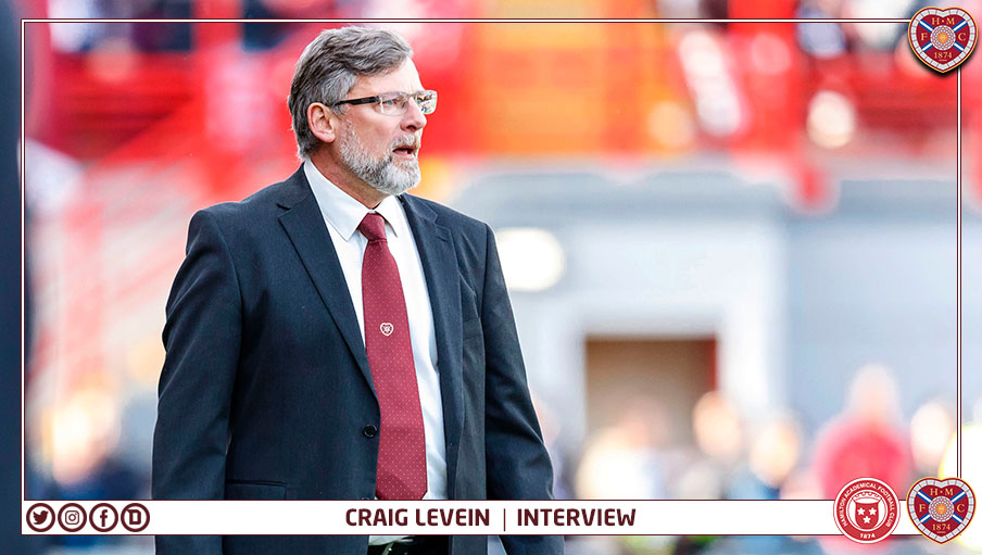 Craig Levein | Post-match Hamilton