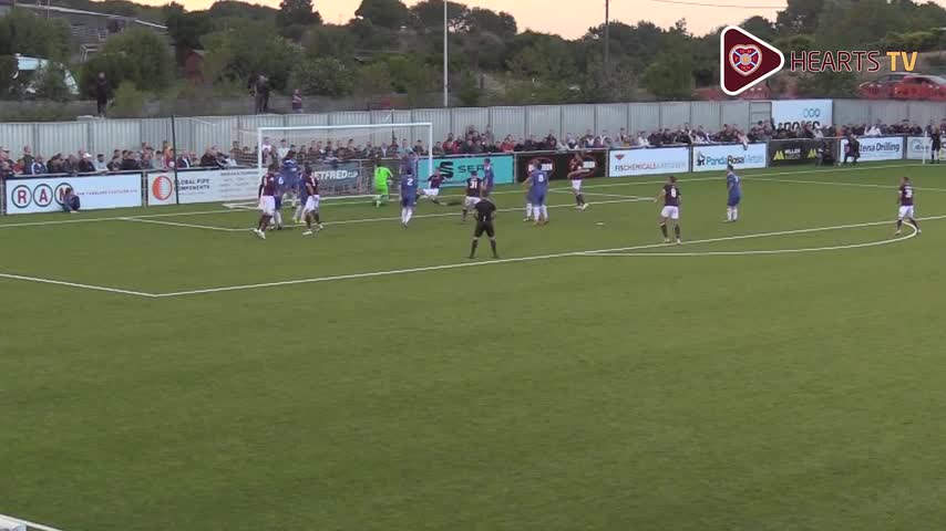 Cove Rangers v Hearts | Goals