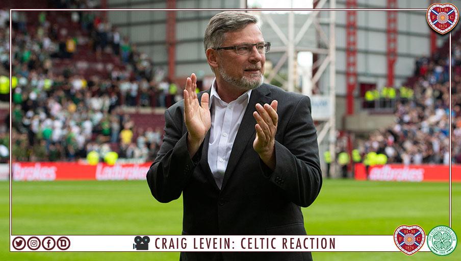 Craig Levein | Celtic reaction