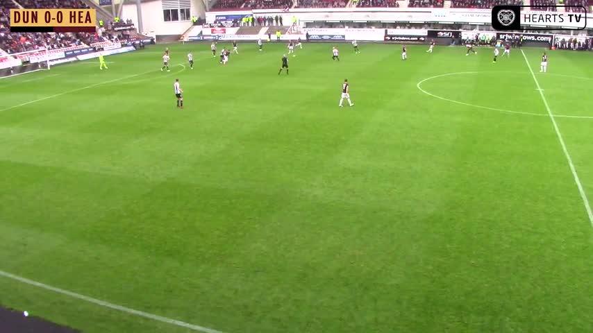 Dunfermline v Hearts | Goal